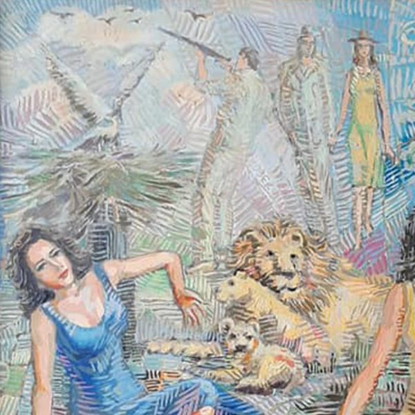 Predators, Oil Painting by Veselin Nikolov