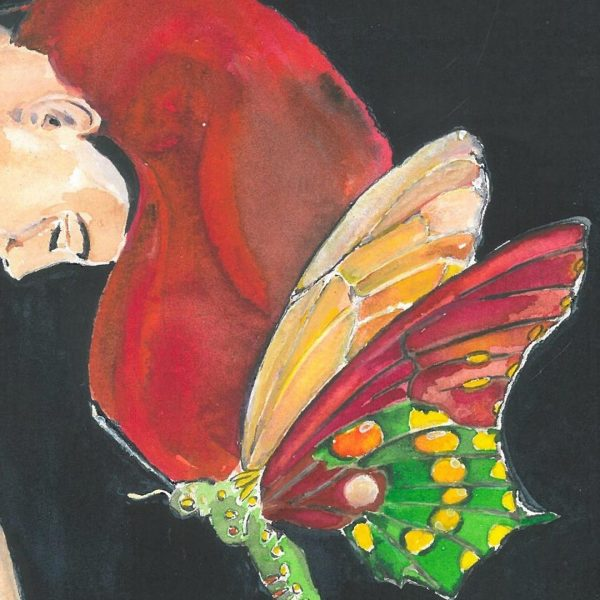 "Forgiveness, Watercolor Painting 10x14"" (26x36cm)"