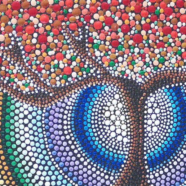 Autumn Colors, Original Mandala 9x7 in / 24x18 cm