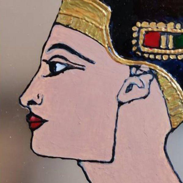 Ancient Woman, Mixed Painting by Penka Livrova