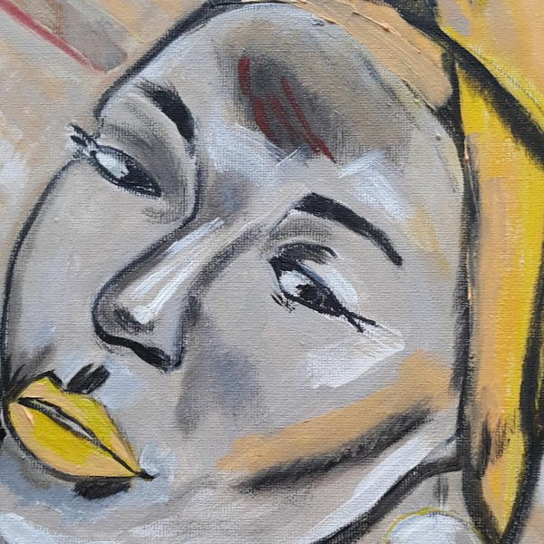 Dreaming, Oil Painting by Daniela Georgieva