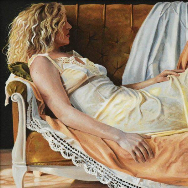 Sunlight, Oil Painting 27x23 in / 68x58 cm