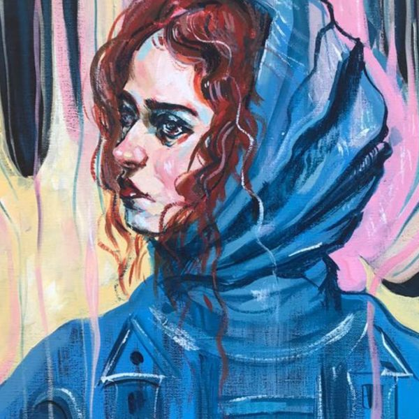 Tragedy, Acrylic Painting 20x28 in / 50x70 cm