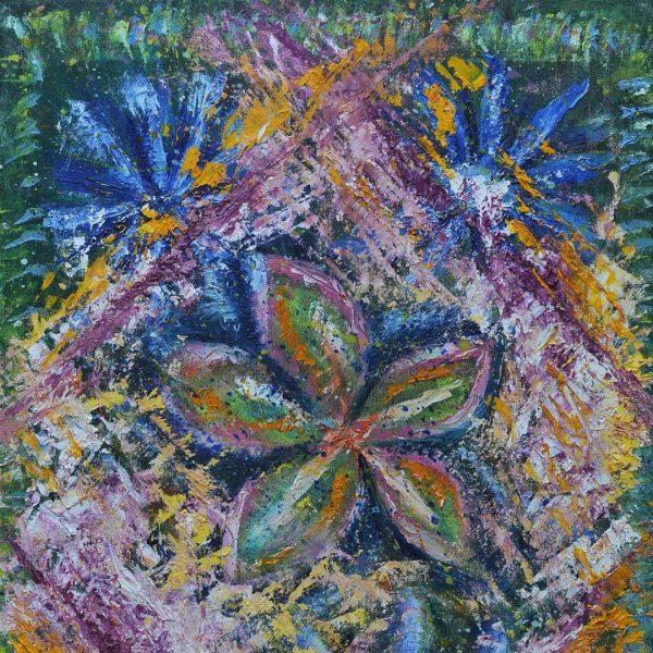 Flower, Oil Painting by Iva Donkova