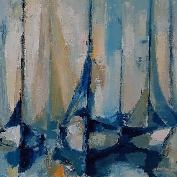 Sunrise, Oil Painting by Iliana Kirova
