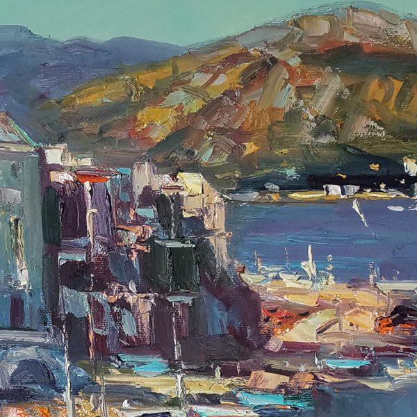 San Fernando Corsica, Oil Painting by Georgi Paunov