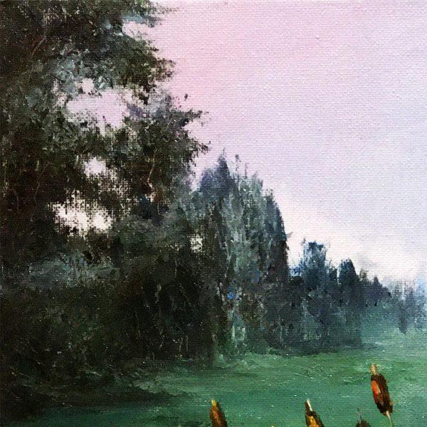 Reeds, Oil Painting by Elena Velichkova