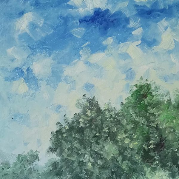 The Three Olives, Oil Painting by Georgi Paunov - Son
