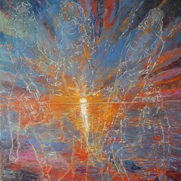 Sky and Sea, Oil Painting by Veselin Nikolov