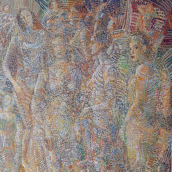 Impression Summer, Acrylic Painting by Veselin Nikolov