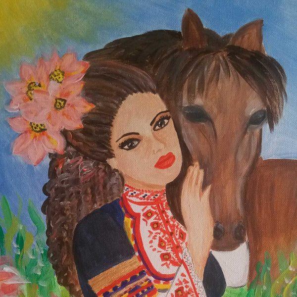 "Love, Acrylic Painting 16x12"" (40x30cm)"