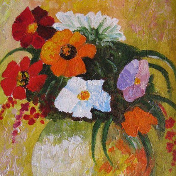 """Natural Bouquet, Oil Painting 12x10"""" (30x25cm)"""