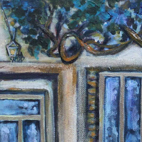 "Summer Memories, Acrylic Painting 9x12"" (24x30cm)"