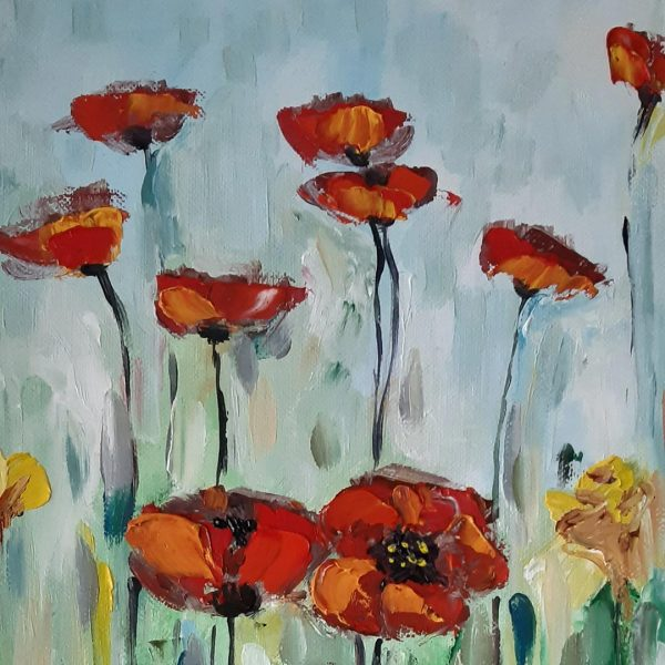 Tenderness, Oil Painting by Iliana Kirova
