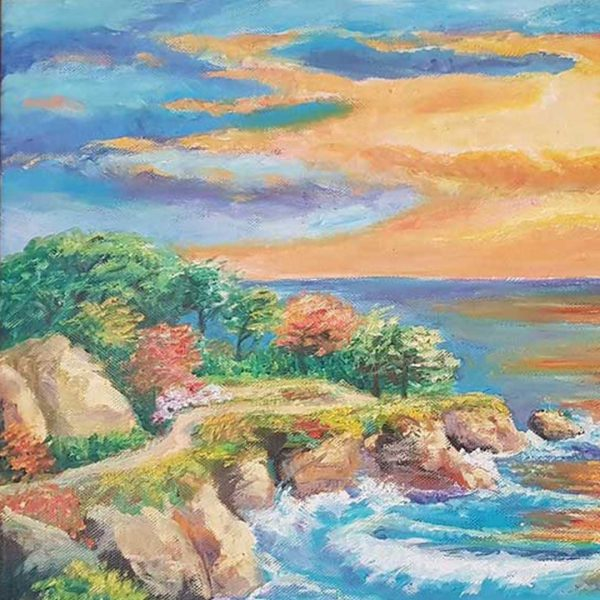 Sunset, Oil Painting by Rumyana Hristova