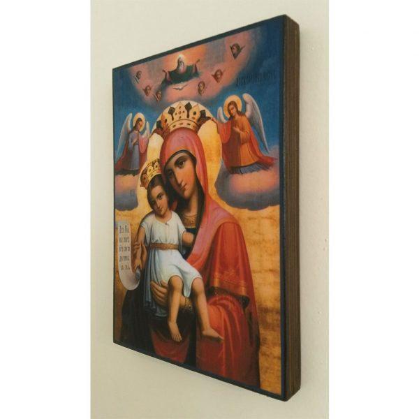 """""""Theotokos"""" Christian Icon 8x6"""" (21x15cm)"""