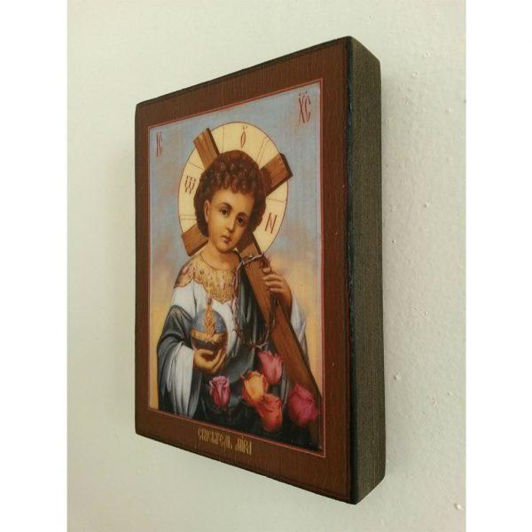 "Jesus Christ Child, Christian Icon 4x3"" (11x8cm) - Artastate"