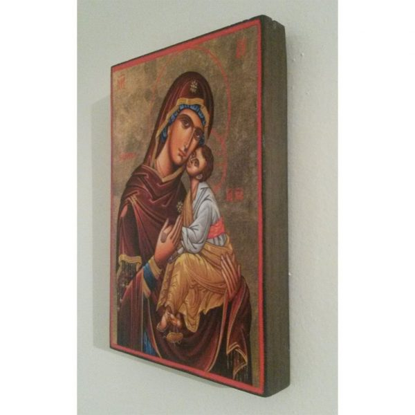 """""""Theotokos"""" Christian Icon 6x4"""" (16x11cm)"""