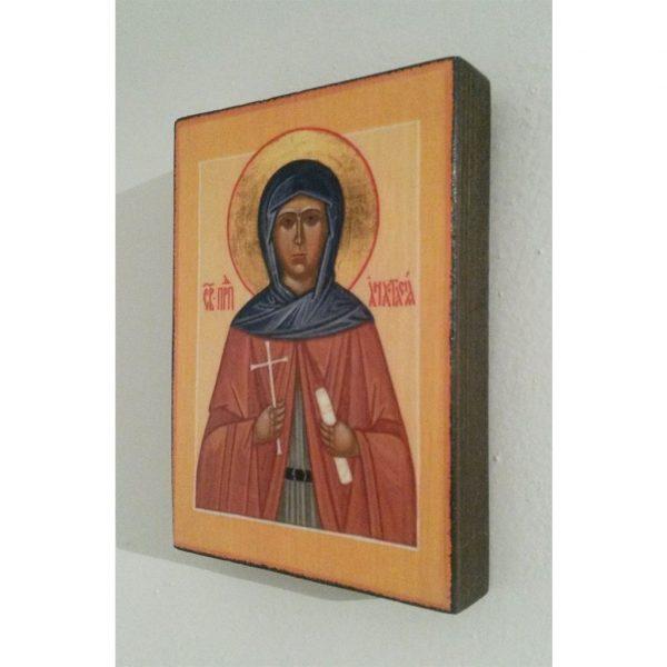 """Saint Anastasia, Christian Icon 4x3"""" (11x8cm) - Artastate"""