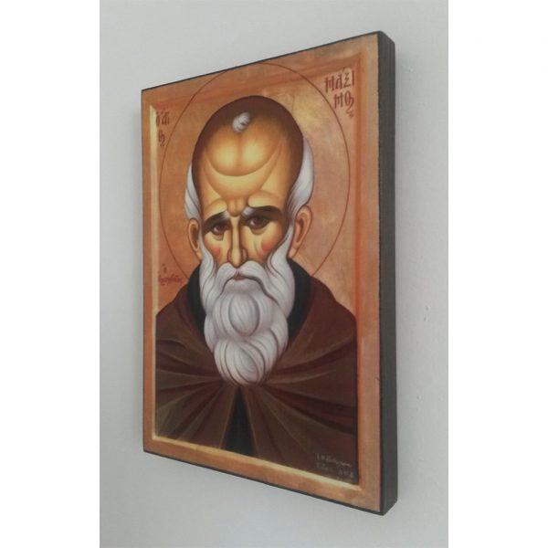 "Saint Maximus, Christian Icon 8x6"" (21x15cm) - Artastate"