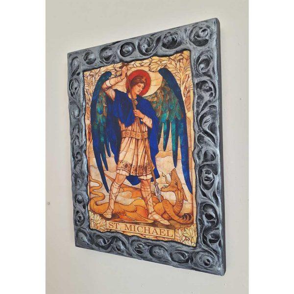 "Saint Michael, Christian Icon 10x8"" (26x20cm)"