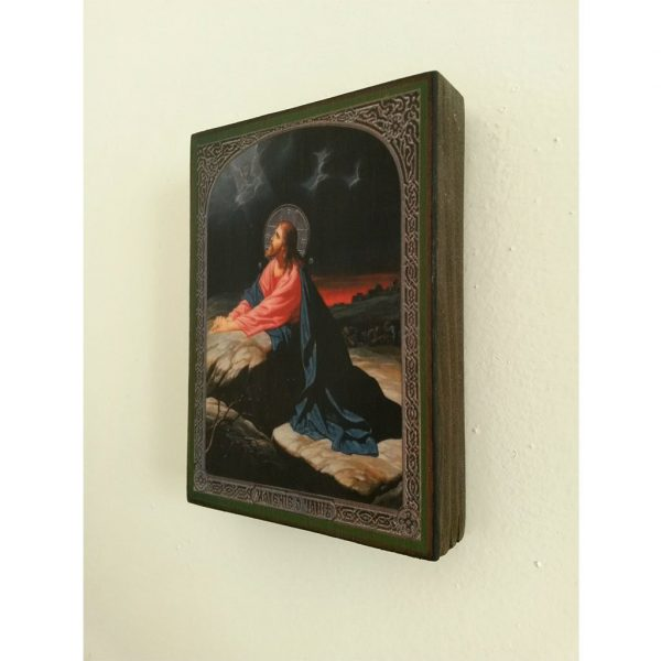 "Jesus Christ, Christian Icon 4x3"" (11x8cm) - Artastate"