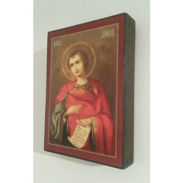 "Saint Daniel, Christian Icon 4x3"" (11x8cm) - Artastate"