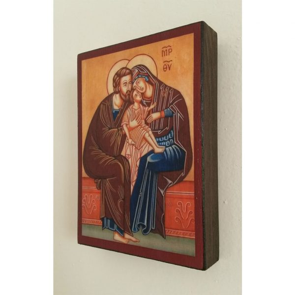"""""""The Holy Family"""" Christian Icon 4x3"""" (11x8cm)"""