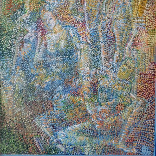 Impression Spring, Oil Painting by Veselin Nikolov