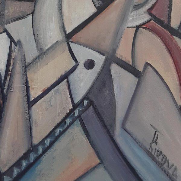 Harbor, Oil Painting by Iliana Kirova