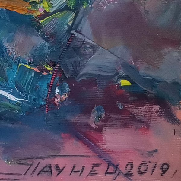 Roses, Oil Painting by Georgi Paunov