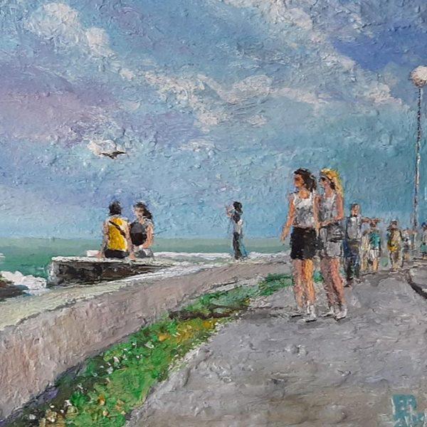 Nessebar, Oil Painting by Veselin Nikolov