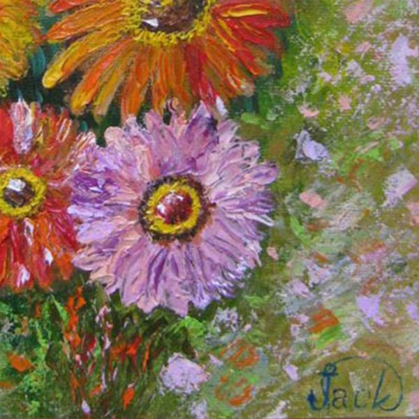 """Sisters , Oil Painting 10x12"""" (25x30cm)"""