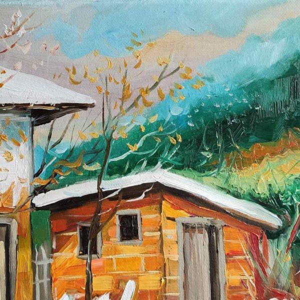 Winter, Oil Painting by Milena Kamburova