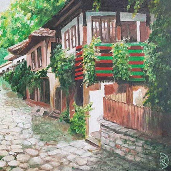 """Etara, Oil Painting 20x28"""" (50x70cm)"""