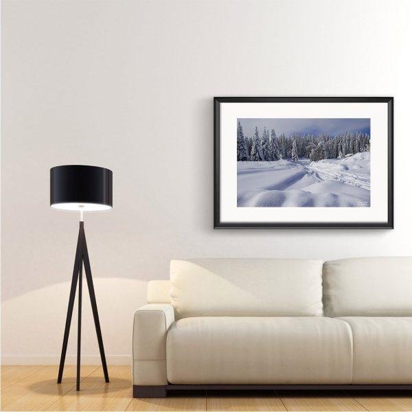 Winter, Photography Framed Art Print by Raina Sind