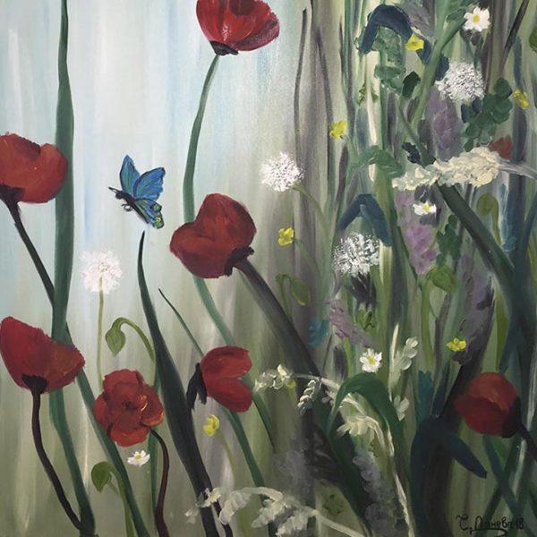 "Awakening, Oil Painting 20x28"" (50x70cm)"