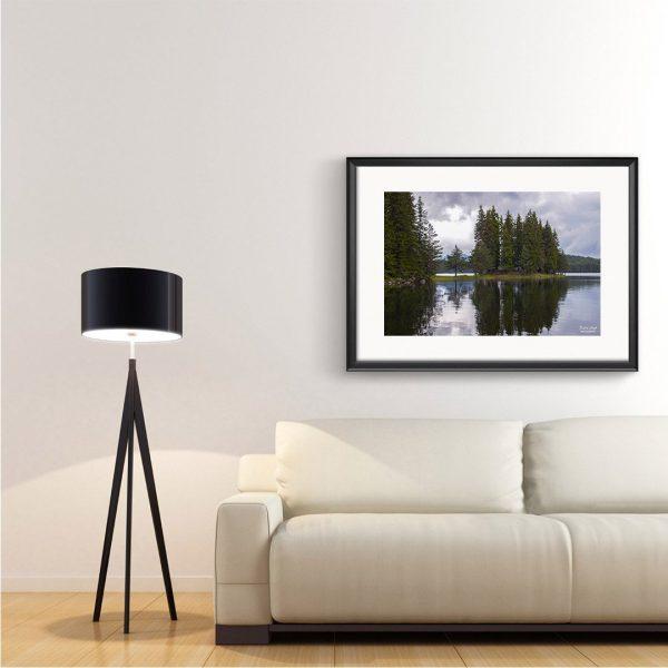 Lake, Photography Framed Art Print by Raina Sind