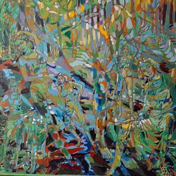 Spring Awakening, Oil Painting by Veselin Nikolov