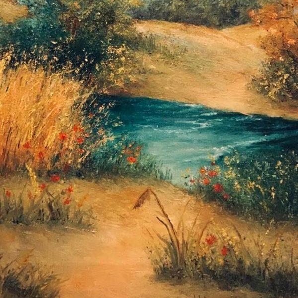 Summer, Oil Painting by Elena Velichkova