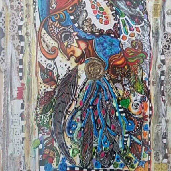 Venetian Bird, Mixed Painting by Svetlana Taskova