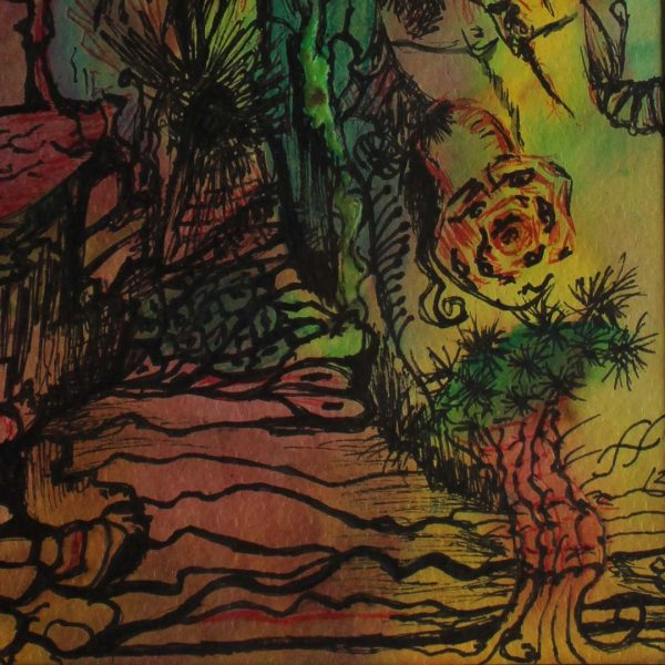 "Fairytale, Water Colour Painting 12x16"" (19x25cm)"
