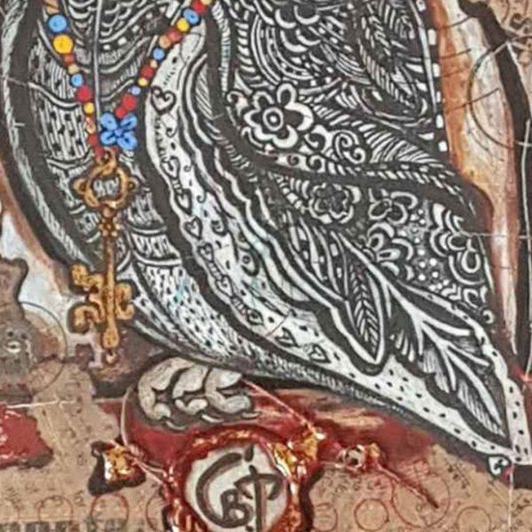 Midnight Sage, Mixed Painting by Svetlana Taskova