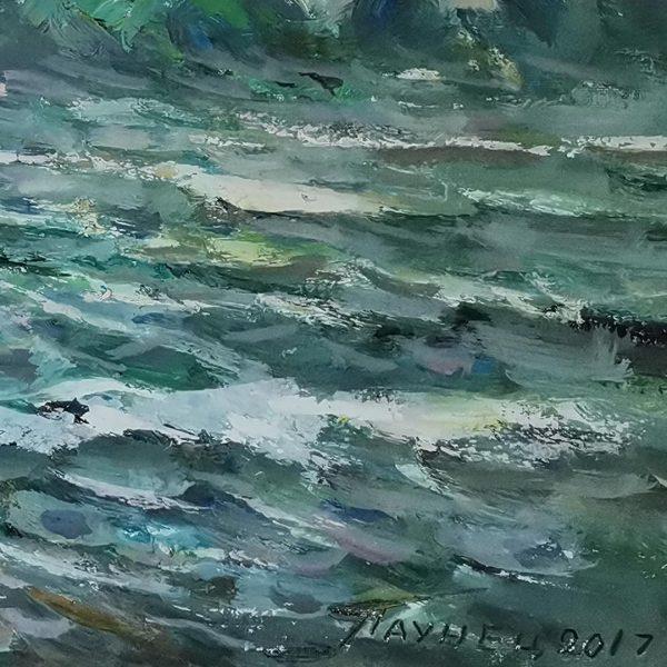 Sea Near Corsica, Oil Painting by Georgi Paunov