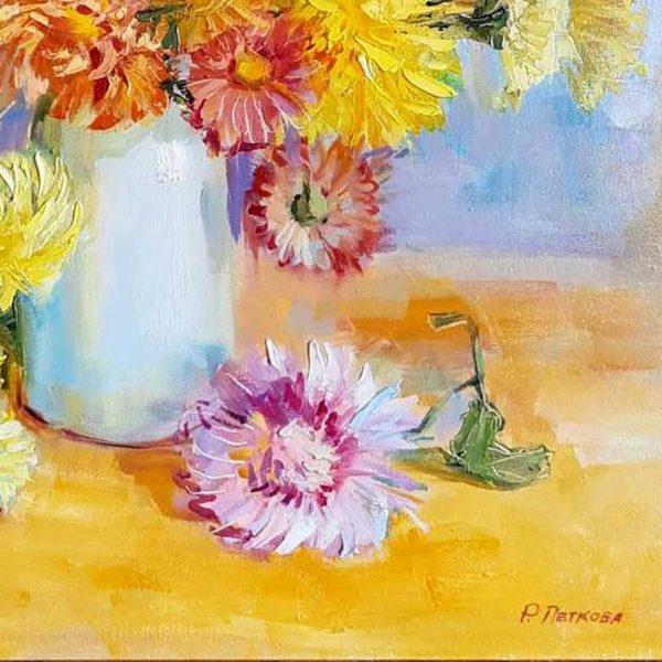 Luxury, Oil Painting 22x18 in / 55x46 cm
