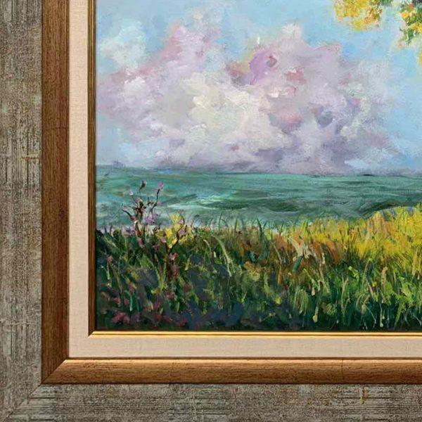 Under The Tree, Oil Painting by Neda Nacheva