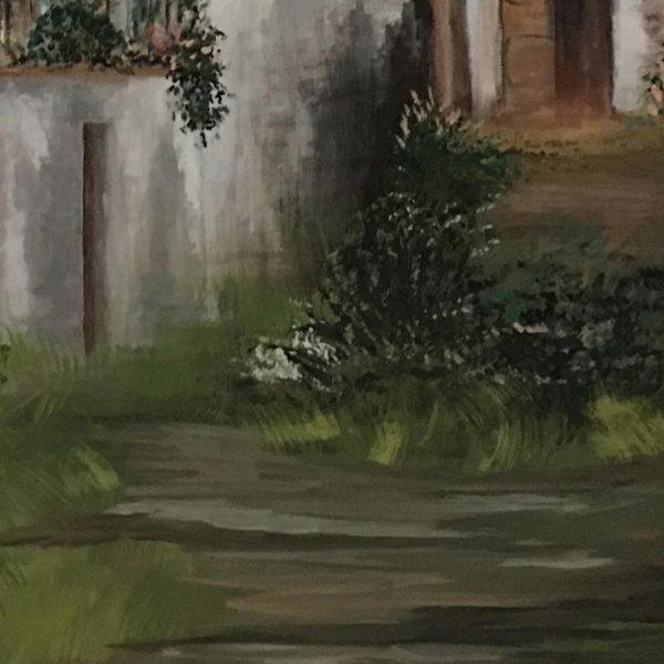"Home, Acrylic Painting 20x16"" (50x40cm)"