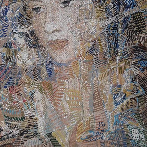 A Mandolin Tune, Oil Painting by Veselin Nikolov