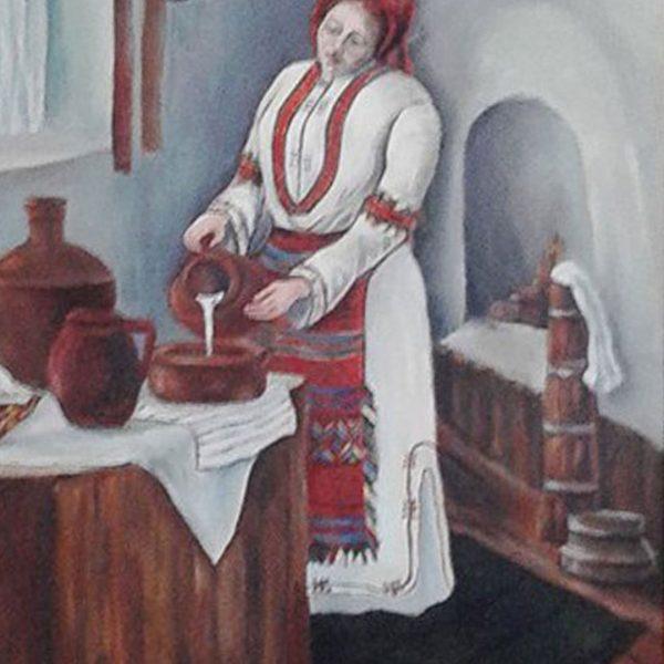 Memory, Oil Painting by Lyubka Kovacheva