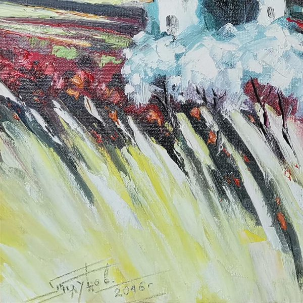 High in the Mountain, Oil Painting by Georgi Paunov - Son